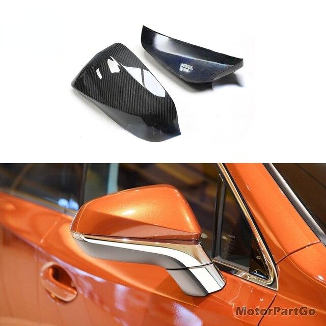 Real Crabon Fiber Mirror Cover 1 pair for Lexus NX RX  2014-2020 T256M 4
