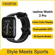 Reloj inteligente realme 2 pro, dispositivo resistente al agua IP68, con pantalla a Color de 1,75 pulgadas, con GPS y 90 modos deportivos, 390mAh, versión Global