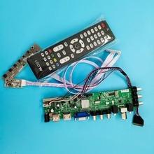 Kit Controller-Board Monitor Display-Panel DVB-T2 Remote-Driver LED B140XTN03 HDMI