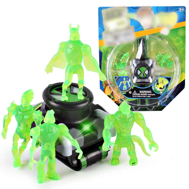 Dessin animé pour enfants défenseurs de la terre Projection montre juvénile classe primaire Hacker forme Robot projecteur téléphone Mobile jouet