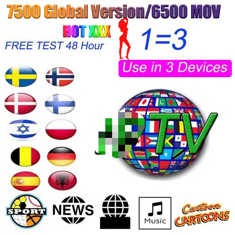 Premum TV Europe Tv Subscription HD Channels MOV Movies Brazil Turkey Portugal Chile Israel Italy Arabic UK Spain Tv M3u