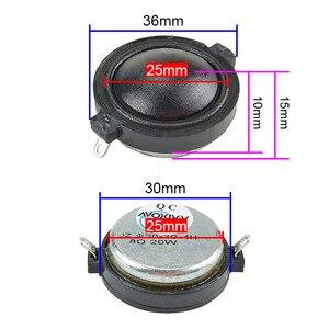 Image 3 - GHXAMP 1 นิ้ว Neodymium ทวีตเตอร์ผ้าไหมฟิล์ม CLEAR Smooth ลำโพง TREBLE มัลติมีเดียรถลำโพง 8ohm 20W 2PCS