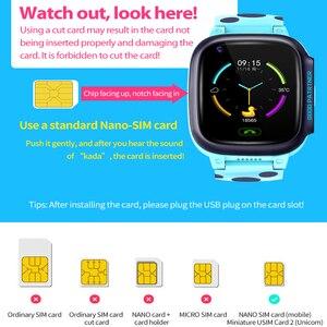 Image 5 - Y95 4G 어린이 스마트 시계 IP67 GPS 와이파이 추적기 warerproof smartwatch 카메라 비디오 통화 시계 아기 시계 smartwatch PK A36E K22