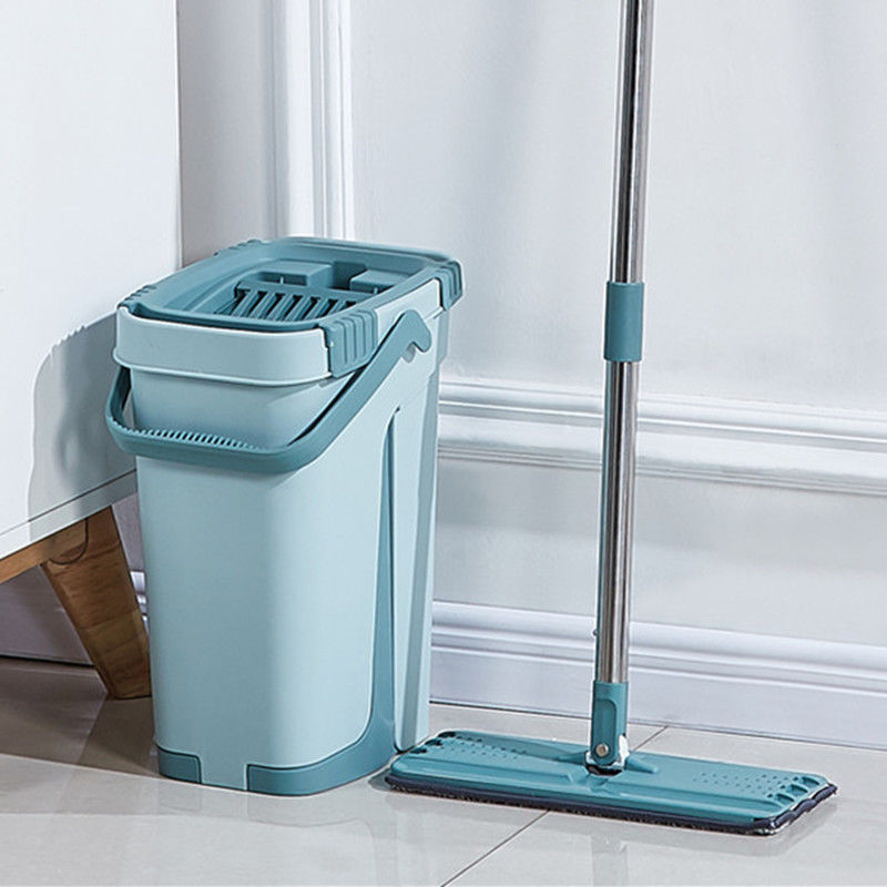Magic Automatic Spin Mop With Bucket Avoid Hand Washing Ultrafine Fiber Cleaning Cloth Home Kitchen Wooden Floor Lazy Fellow Mop