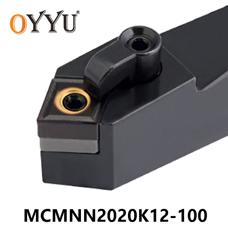 OYYU 20mm MCMNN MCMNN2020 MCMNN2020K12-100 External Turning Tool Holder Carbide Inserts <font><b>CNMG120404</b></font> CNC Boring Bar Lathe Cutter image