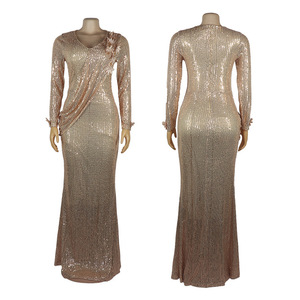 Image 5 - African Dresses For Women Africa Clothing Muslim Long Dress High Quality Fashion African Dress For Lady