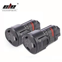 Elechoice 2 قطعة 2500mAh 12 فولت L1215 قابلة للشحن بطارية ليثيوم لون ل AEG Ridgid L1215 BS12C ، BS12C2 ، BSS12C L1215P L1215R