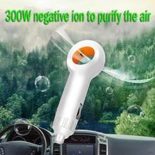 Mini veículo purificador de ar portátil carro ar fresco negativo iônico filtrar oxigênio barra ionizador ozônio ânion acessórios do automóvel interior