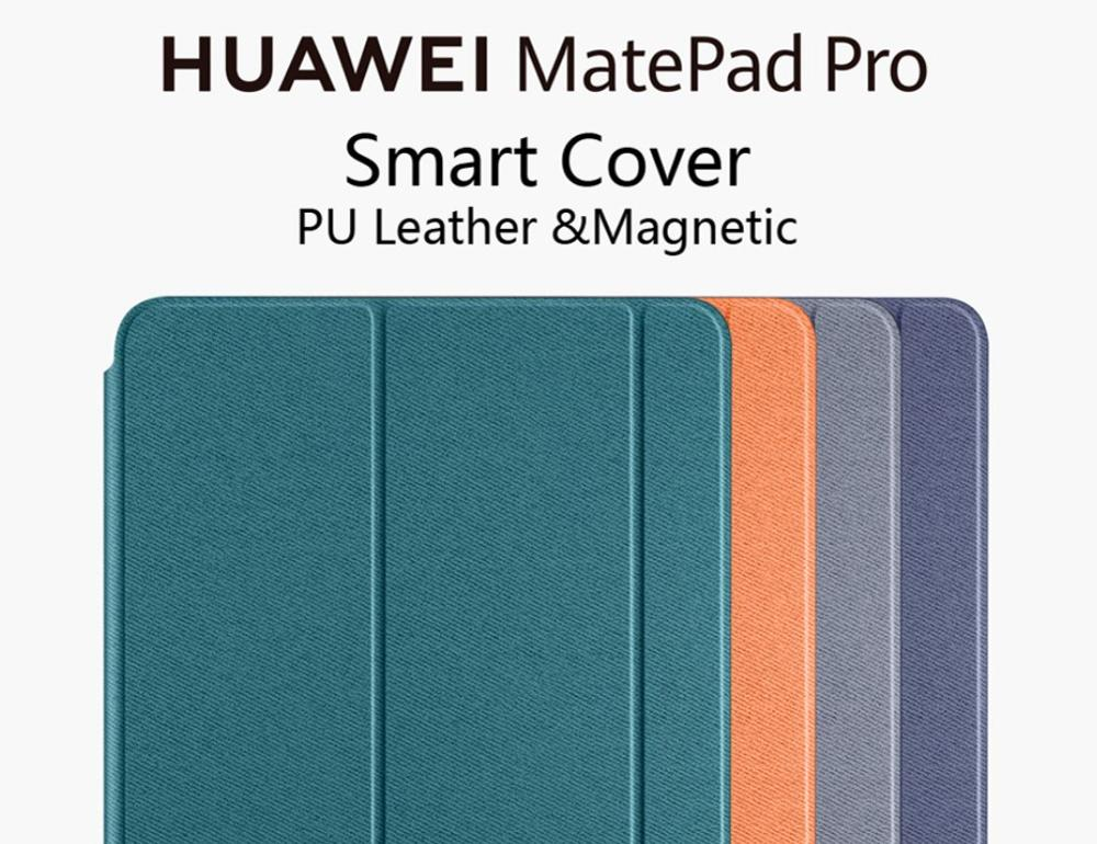 Original Huawei MatePad Pro Case Smart Flip Cover Leather Case Magnetic Cover 100% Official MRX-W09/AL09 10.8 inch
