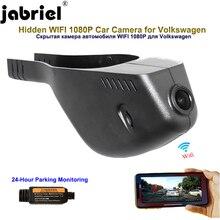 Jabriel 1080P araba kamera dash kamera gizli dvr Volkswagen Passat b8 vw b6 b5 b7 golf 4 5 6 7 polo caddy touran t5 t4 tiguan