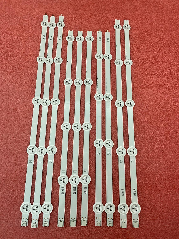 New Kit 10 PCS LED Backlight Strip For LG 47PFK6309 47LA6300 47E730A LC470DUN PG P1 6916L-1566A 6916L-1568A 6916L-1567A 1569A