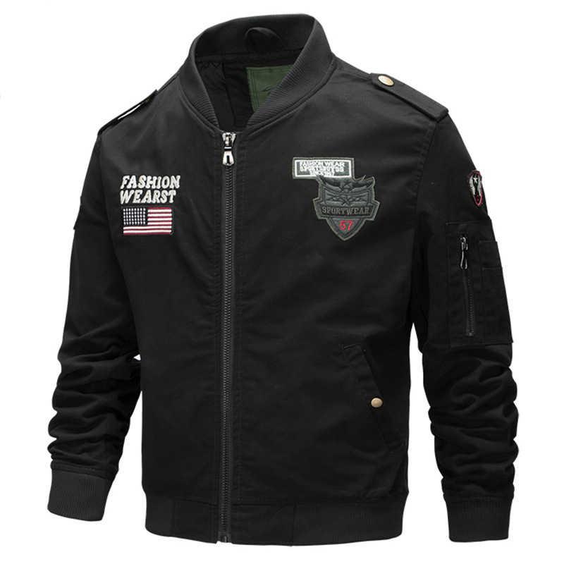 77City Killer Куртки мужские осень военные куртки Мужская Верхняя одежда Air Force Flight США армейская куртка Chaqueta Hombre Размер M-4XL