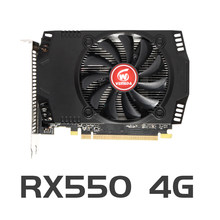 Veineda original rx 550 4gb placas de vídeo gpu amd radeon rx550 4gb gddr5 placas gráficas computador desktop mapa do jogo pci-e x16