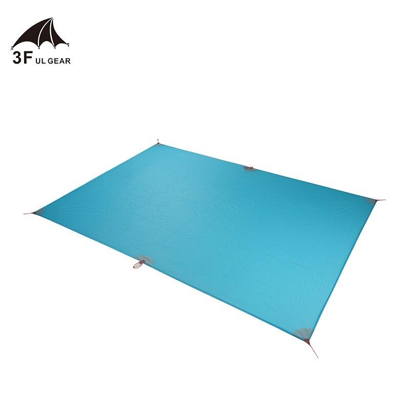 3f ul engrenagem 30d cordura tenda pegada super leve pano toldo de lona acampamento ao ar livre