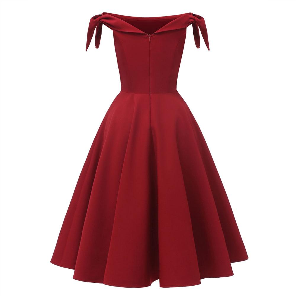 Vestidos de cocktail 2019 vermelho curto formal