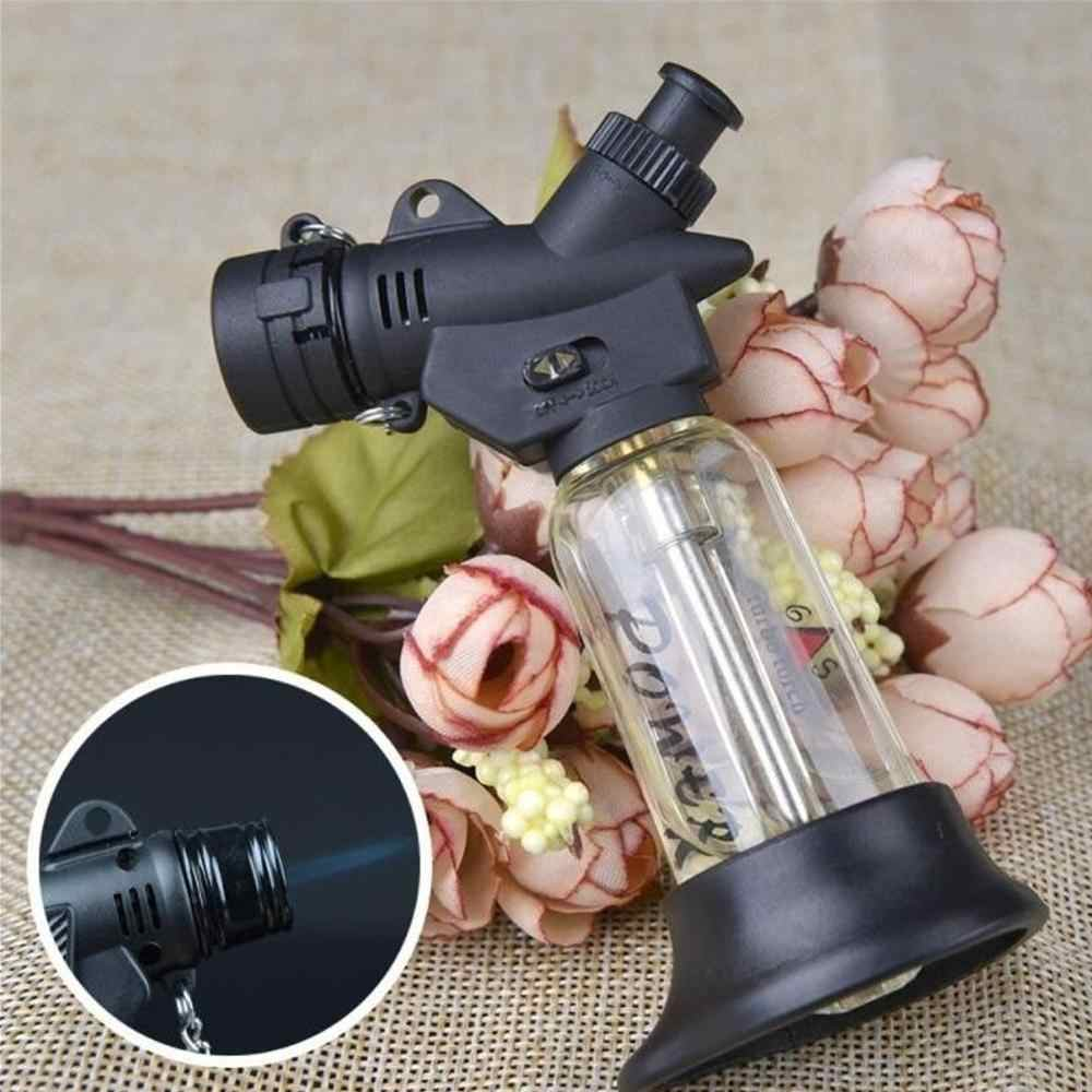 Outdoor BBQ Ringan Cigar Torch Turbo Lighter Jet Butana Gas Rokok C1300 Spray Gun Windproof Pipa Lebih Ringan untuk Dapur