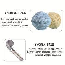 Универсальный для душа полезные Энергетические шарики керамический фильтр для очистки воды минеральные шарики замена
