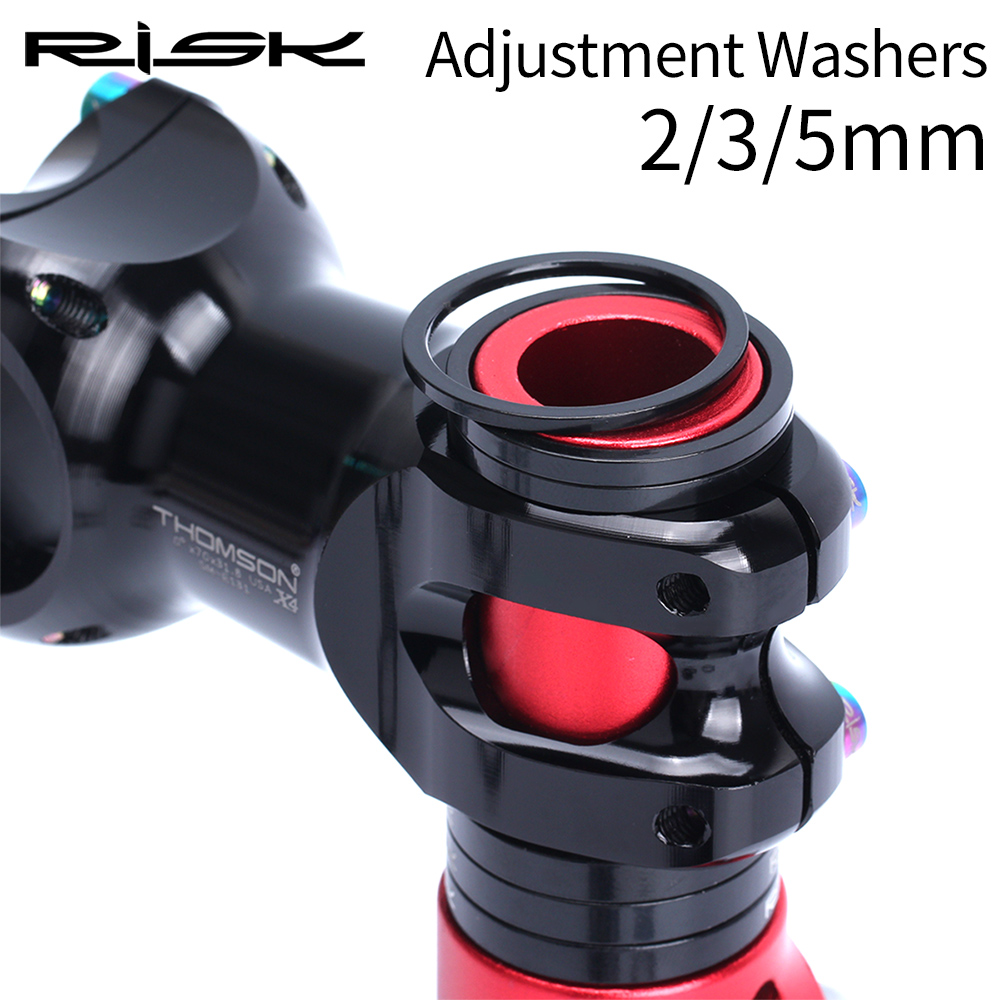 Велосипедная вилка RISK 2/3/4/5 мм из алюминиевого сплава, с регулируемой ручкой, аксессуары для езды на велосипеде