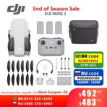DJI Heißer Verkauf Mini 2 Drone mit 4K/30fps Kamera und 4x Zoom 10km Übertragung Abstand Mavic mini 2 Marke Neue Original