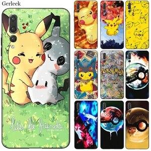 Beste Telefoon Case Voor Huawei P8 Lite 2015 2017 P9 P10 P20 P30 P Smart 2018 P Smart Z Plus 2019 Hot Pikachu Pokemon