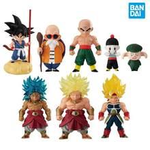 Bandai-figuras de acción Shokugan de Dragon Ball, modelo Original de Pvc, juguetes coleccionables para niños, 14 Master Roshi Goku Broli