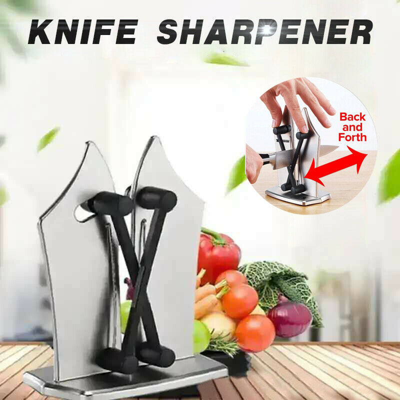 Grinder on Sharpener Knives Sharpening Tools Stone Seen Whetstone Professional Kitchen Knife Diamond As