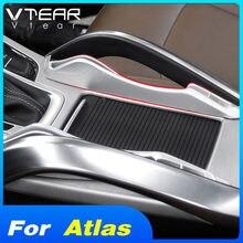 Vtear für Geely Atlas Emgrand NL-3 Proton X70 auto center console armlehne strorage box container organizer fall zubehör streifen