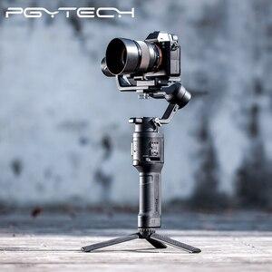Image 1 - PGYTECH T2 esnek Tripod spor eylem kamera için Osmo cep GoPro Insta360 açılı ayarlanabilir tutucu tripod standı