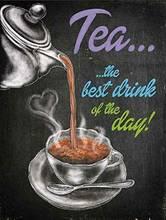 Металлический знак для кухни чая картины кафе семейного бара