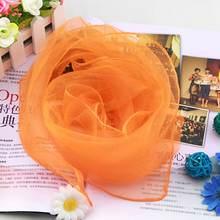 12 шт Женские квадратные шифоновые танцевальные шарфы с жонглированием