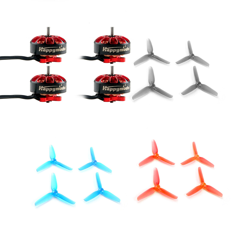 Happymodel EX1203 1203 6200KV 2 3S Brushless Motors with 2.5inch 65mm PC Propeller for Toothpick Drone Larva X HD DIY FPV Kit|Parts & Accessories| |  - title=