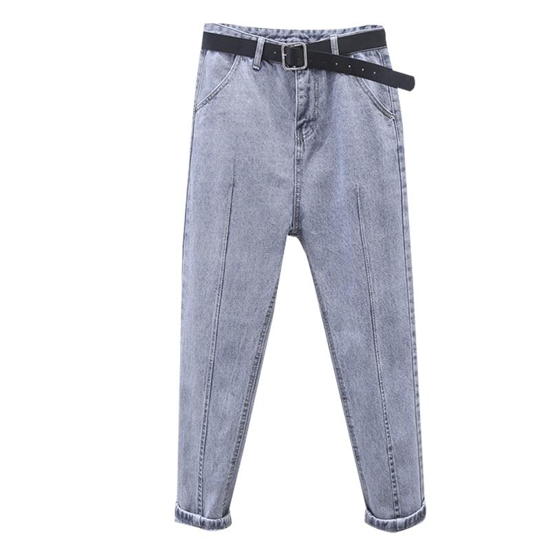 Fa888 2019 New Autumn Winter Women Fashion Casual  Denim Pants High Waist Jeans Womens Clothing