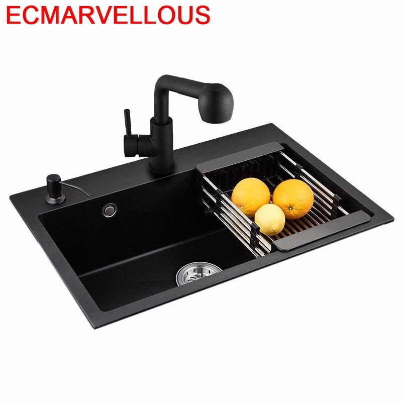 Torneira portátil gourmet integral preto lavandino cucina portatil cuba lavabo frigadero de cocina pia cozinha