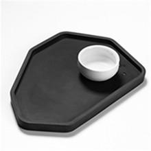 DIY Silicone Clay Mold Flower Pot Tray Making Concrete Flower Vase Cup Coaster Molds Resin Craft Plates Mould modern simple home decorations flower pot silicone cement mold desktop ornament clay molds diy concrete mould