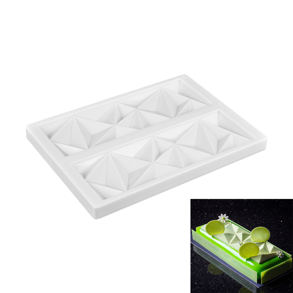 Silicone forms Chocolate Diamond Shape <font><b>Cake</b></font> Mold <font><b>Fondant</b></font> Mould Sugar <font><b>Cakes</b></font> <font><b>Tools</b></font> <font><b>Decorating</b></font> Baking <font><b>accessories</b></font> For <font><b>Cake</b></font> Shop image