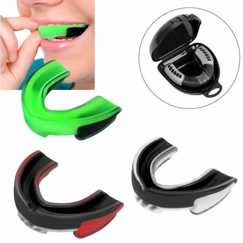Sport Mouthguard Mouth Guard Teeth Protector For Boxing Karate`Muay Thai SafeKH