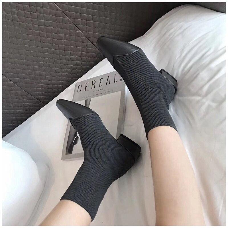 Flyknit Autumn Sock Ankle 9