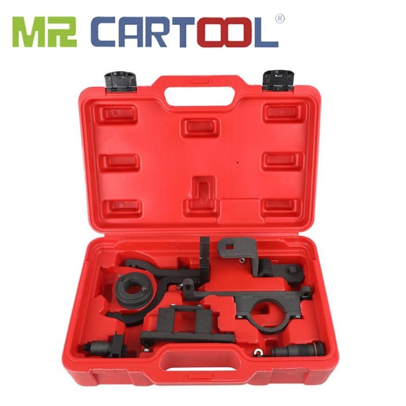 MR CARTOOL Engine Timing Chain Camshaft Locking Tool Kit For Ford LAND ROVER Explorer Mustang Ranger Mazda B4000 4.0L SOHC V6