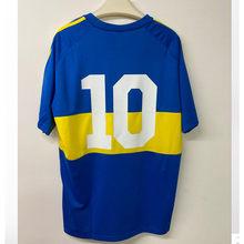 Camiseta retro clássico comemorativo 1982 maradona n° 10