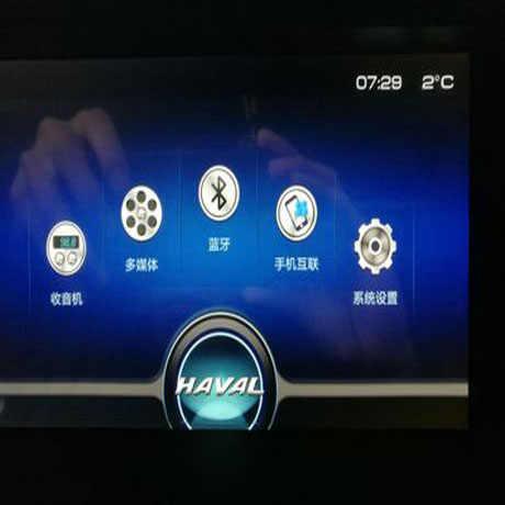 HD หน้าจอป้องกันฟิล์มเหล็กกำแพง Haval M6 H6 2017 18 CAB238