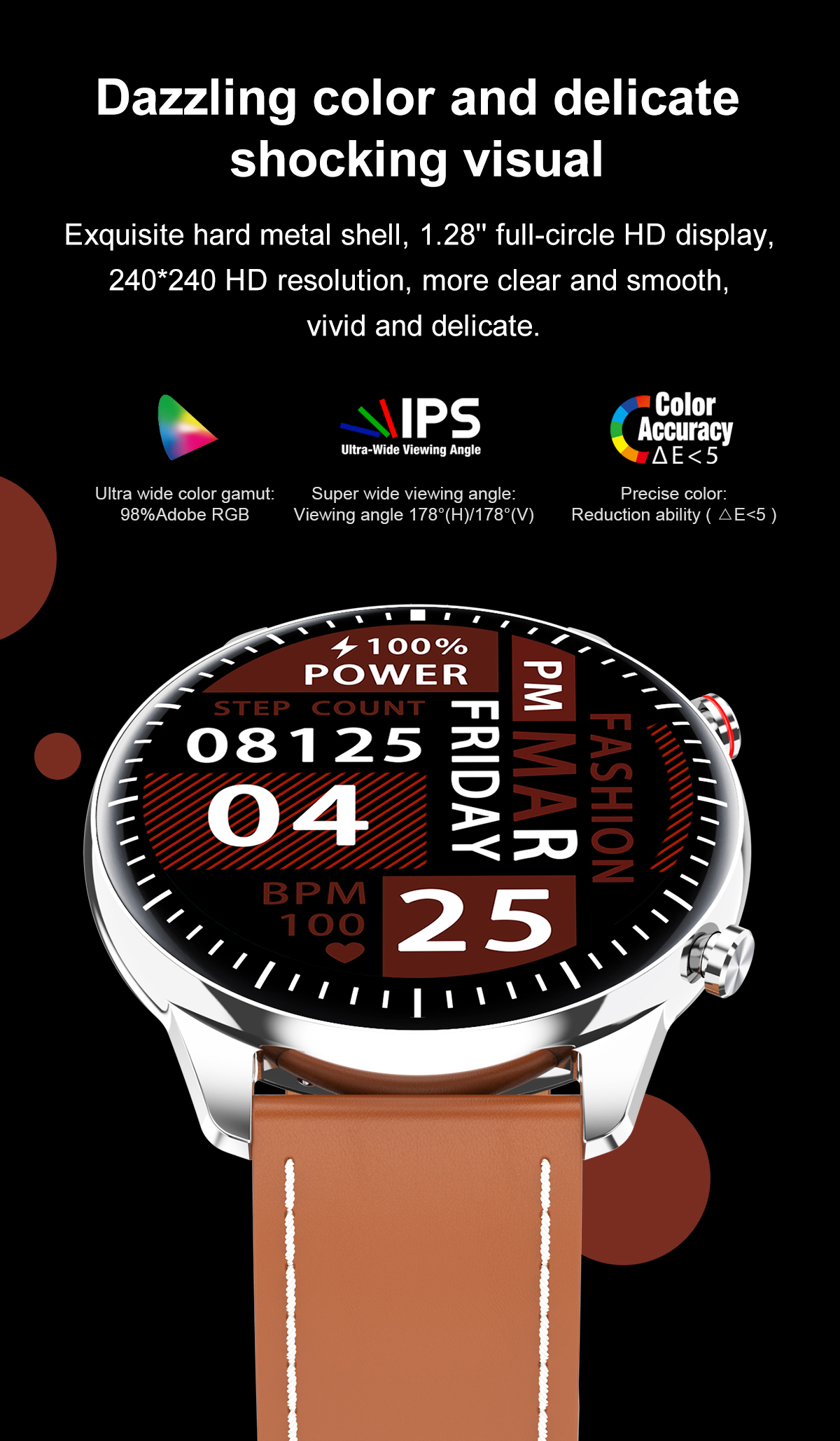 H24bc1daf80f44c49b724f1b5d4994a3dP 2021 NEW Smart Watch Women Men Full Touch Fitness Tracker IP67 Waterproof Smartwatch For Android Xiaomi Redmi