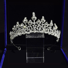 Wedding Tiaras and Crowns Crystal Bridal Hair Accessories Headband Rhinestone Diadem Crown