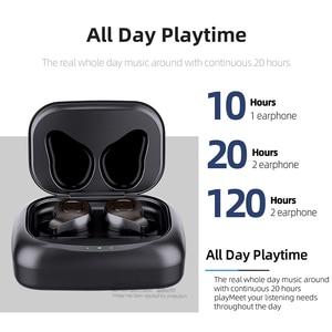 Image 3 - AUN Bluetooth 5.0 20 שעות טעינת תיבת אלחוטי אוזניות 3D סטריאו אוזניות קול בקרת רעש ביטול המשחקים אוזניות חדר כושר