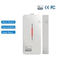 Sensor z-wave para puerta y ventana, Compatible con sistema Z wave, Automatización del hogar inteligente, Ultra bajo consumo de energía/tiempo de Larga modo de reposo
