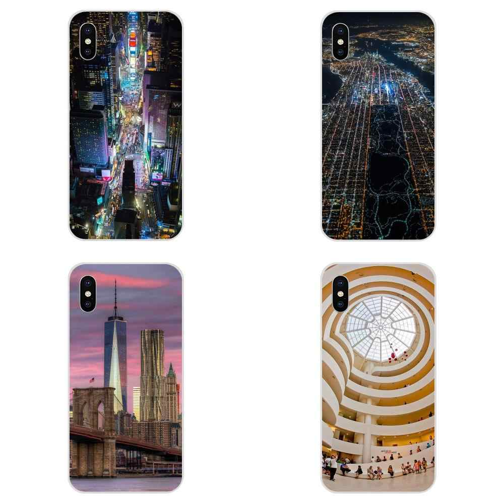 New York Mam New Personalized Phone Accessories For Huawei Honor Mate 7 7A 8 9 10 20 V8 V9 V10 G Lite Play Mini Pro P Smart