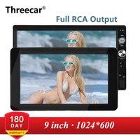 1024x600 9'' Ultra Thin TFT LCD Headrest DVD Monitors HD video input Radio AV Monitor for car audio Android DVD Player Rear Cam