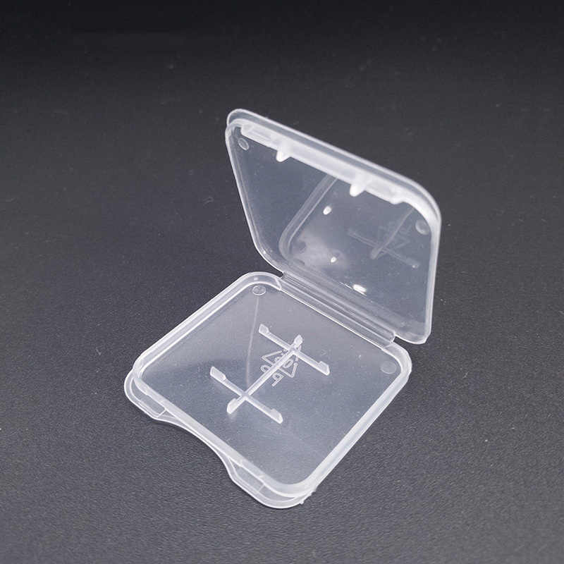 TD SD étuis de carte mémoire protection du support Transparent boîte en plastique support de stockage étuis de carte mémoire s
