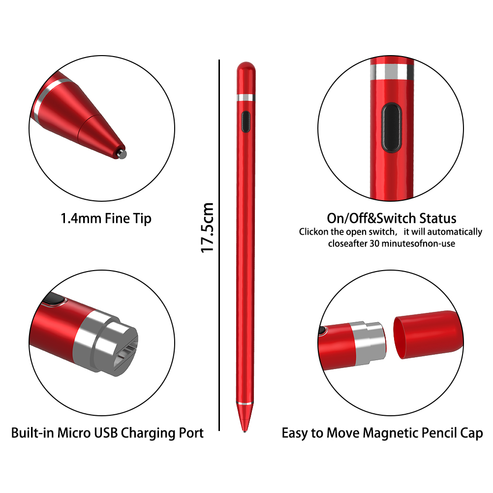 Universal Capacitive Stylus for IOS/Android 18