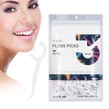 Новое поступление Y-Kelin зубная нить Зубочистки 50 шт. Зубной Флоссер семья пакет портативная зубочистка HMP волокно межзубные