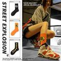 Модные трендовые уличные носки для косплея в стиле Харадзюку для мужчин и женщин, зимние носки с героями мультфильмов, Аниме Сон Гоку, смешн...